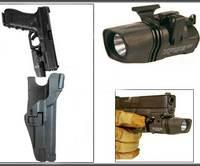 Blackhawk Holsters Level 3 Tactical 1911 TAC SERPA Pistol Holster Flashlight Holster Black