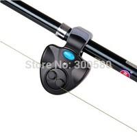 3PCS New Fishing Alarm Electronic LED Fish Alarm Fishing Rod Bite Alarm Sound Buzzer Light Clip Free Shipping