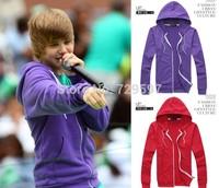 2014 Justin Bieber clothes Winter Autumn Men's Fashion Brand Hoodies Sweatshirts men ,Casual Sports hip hop Male Hooded Jackets