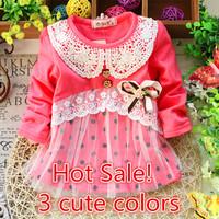 2T-5T, New 2014 Baby Girl Full T Shirt Baby Girls  Kids 100%Cotton Tee 021