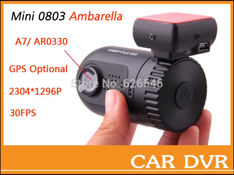 Автомобильный видеорегистратор HANS 0801 0803 Ambarella DVR A7LA50D/A2S60 AR0330/OV2710 1296P /1080P GPS /8GB #2212 часы mini world mn1012a
