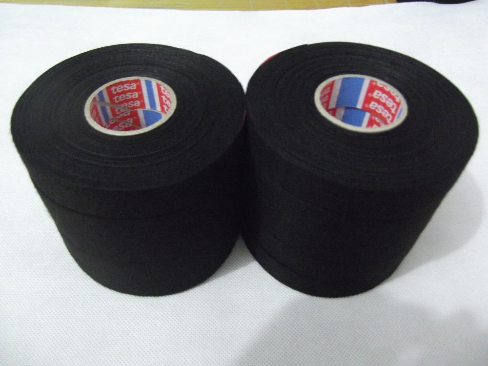 10Pcs TESA 51608 19mm x 25m, Adhesive Cloth Fabric Tape cable looms,wiring looms Freeshipping(China (Mainland))