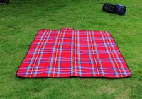 Super thick waterproof picnic mat moisture pad Double outdoor camping barbecue beach picnic matKB668