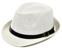 Summer sweatband breath freely  gentlemen fedora fashion women beach hats belt straw plaited jazz hat