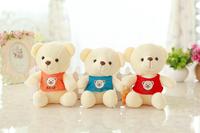 Free shipping mini size bear plush toy teddy bear soft stuffed doll Christmas gift