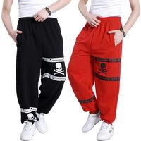 2014 Teenage men's clothing plus size hiphop hip-hop pants hiphop wei pants thin hiphop jeans loose fat male trousers