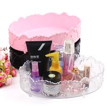 Free Shipping cosmetic organizer organizador de maquiagem jewellery box acrylic makeup organizer jewelry organizer