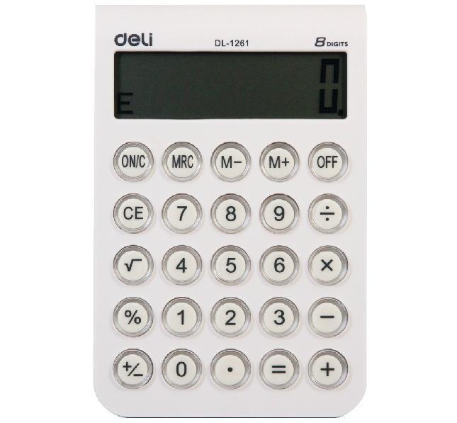 #1261 8 digits Big display desktop electronic calculator office stationary(China (Mainland))
