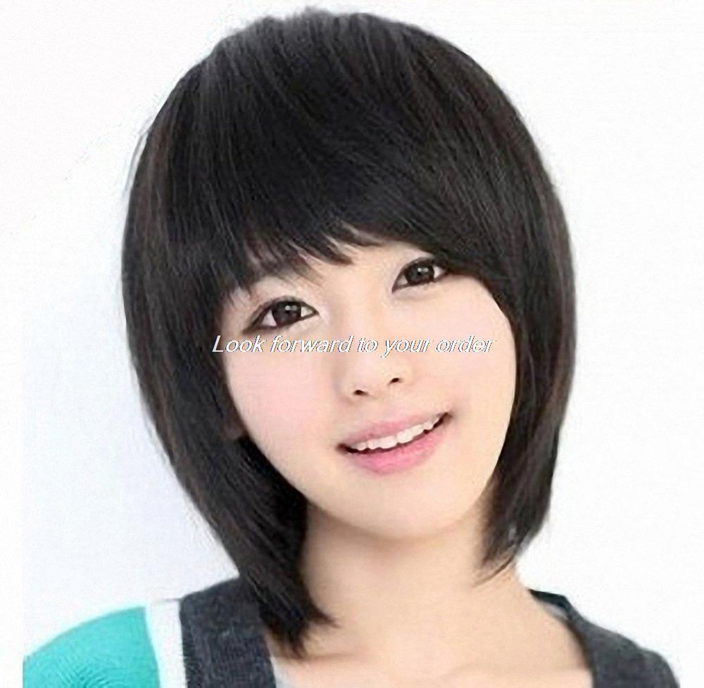 челки фото азиатки