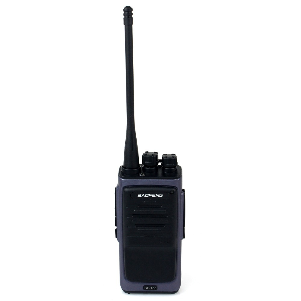 New Black Walkie Talkie Baofeng T88 8W UHF 400-480MHz VOX FM Radio Monitor Scan Two Way Radio Professional Transceiver A7140A(China (Mainland))