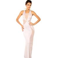 New 2014 Sexy Nightclub Bandage Dress Summer Sexy Women's Party Evening Dress Mini sleeveless Clubwear Dresses