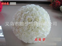 Hot Sale Artificial Foam Roses For Home And Wedding Decoration Flower Heads Kissing Balls For Weddings Multi Color 50cm Diameter