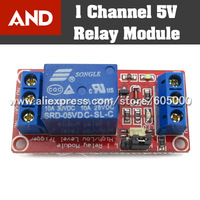 1-Channel H/L Level Triger Optocoupler Relay Module For Arduino 5V Free Shipping