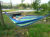 Hammock camping survival hammock Parachute cloth outdoor or indoor 280*190cm *80cmm 1pc
