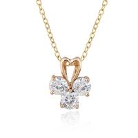 2015 new hot Platinum plating stone color is white Bright fashion  suspension pendant
