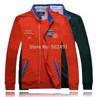 New Arrival Mens Jackets Hoodies And Sweatshirts Men's Fashion Emboroidery Jacket Men Clothing Brand 2014 Hip Hop Size:XXXL-M