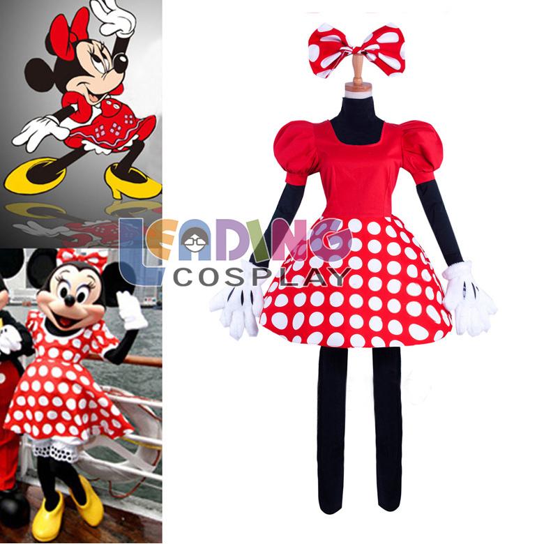 personalizado- feito minnie mouse roupa roupa natal traje(China (Mainland))