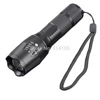 103C-T6 CREE T6 high quality Long shot Glare 5 files 1000 lumen Stainless steel head attack LED Glare flashlight