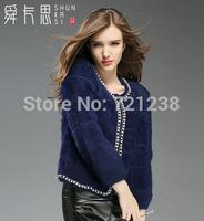 2014 Winter new style   Women's clothing european  Mink wool coat discount sales promotion J033