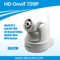 Dericam H502W P2P Onvif HD 720P MegaPixel H264 Wireless Wifi IP Camera  Full White