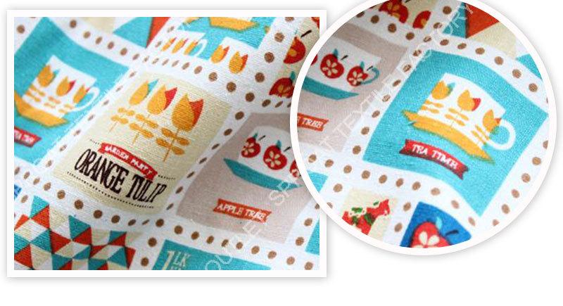Casa textiles2014new greenhorse impressão artesanato tecido para capa de almofada de linho / algodão / cortina com width145cm grátis frete SP106(China (Mainland))