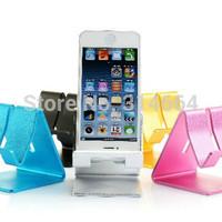 Universal Fashion luxury 5 Color Glittering Ruggedized Aluminum Alloy Fixed Style Bracket For SmartPhone