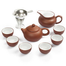 Free Shipping Drinkware KungFu Tea Set,1 Teapot 2 Teacup,YiXing Purple Clay,3Pcs Red Tea Service, Puer Teapot 120ml High-Quality