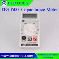100% Brand New TES-1500 Digital Capacitance Meter  0.1pF-20000uF