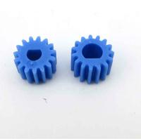 2pics D hole gear 0.5 modulus plastic 3 / 4mm geared motor shaft gear cutting edge model DIY