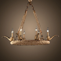 2015 European and American creative living room chandelier  8126D6