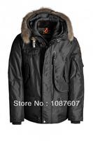 Hot Brand RIGHT HAND MAN Winter Puffer Coat High Quality Down Jacket Black Short Parka Real Fur Arctic Parkas Gobi Kodiak 629