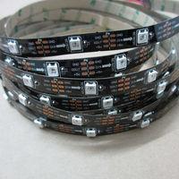 5M Black/white PCB 30 led/M 150 WS2812B ws2812 2812 WS2812 IC 5050 RGB LED Strip Light Dream Color Non Waterproof DC 5V 4PIN