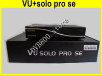 Free Shipping TWIN tuners receiver vu+solo pro SE Digital Satellite Receiver 400 MHz MIPS Processor Linux OS support cccam