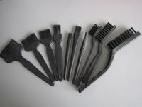 NEW 10pcs Conductive Ground Clear Anti-static Brush Control Black