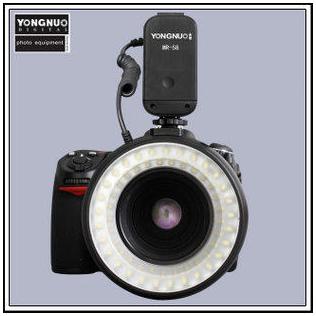 YONGNUN MR-58 LED ring macro flash speedlight(China (Mainland))
