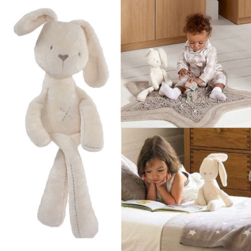 Hot sell! Cute Soft Good Rabbit Bunny Plush Toy Doll For Kids Babys Gift Free shipping!(China (Mainland))