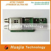 2PCS Newest Jynxbox ATSC Tuner for Jynxbox Ultra HD V3 / V4 / V5 / V6 ,v7digital satellite reciever high quality JB-200 tuner