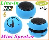 50PCS Wholesale Portable Mini Hamburg Speaker Amplifier Hifi Music MP3 Player