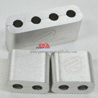 JDM universal cae spark plug wire separators aluminum password  hood risers free shipping