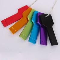 Waterproof 8G Key USB Flash Drive Real Capacity usb 2.0 pen drive flash memory stick Free shipping+ Drop shipping