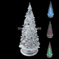 Holiday Festival Best Gift RGB Colorful LED Christmas Tree Night Light Christmas Decoration Night Light-22000572