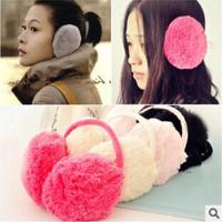 1Piece Fluffy warm Earmuffs U Pick New colorful Earmuffs Ear Warmers Ear Muffs Earlap Winter Warm