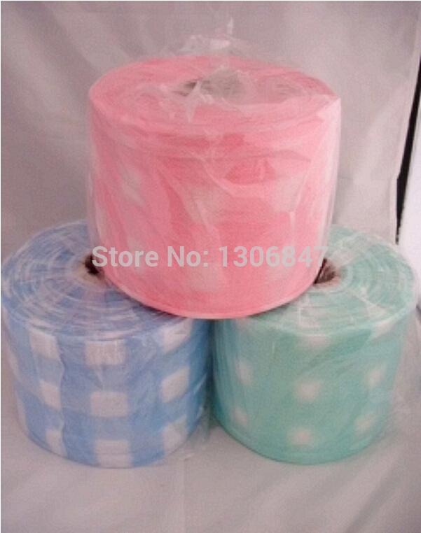 Toalhetes de limpeza descartável beleza toalha rolo de papel toalha para comodidade de viagem e saúde(China (Mainland))