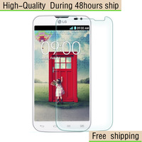 High Quality Scratch Resist Tempered Glass Screen Protector For LG L90 D410 Free Shipping