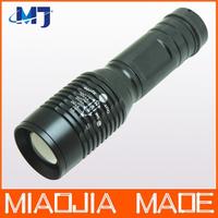 Super Bright Cree XM-L2 LED Stepless Dimming zoom 2000 Lumens flashlight torch