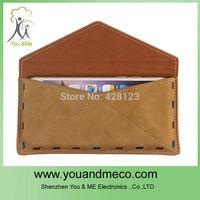 Luxury Fashion Elegant Envelope PU Leather Case for Apple iPhone 6/Plus 4S / 5 5S 20pcs/lot Free shipping