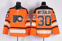 Free Shipping Cheap Discount Authentic Philadelphia Flyers Ice Hockey Jerseys #30 Ilya Bryzgalov Jersey Wholesale Mixed Order