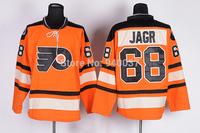 Free Shipping Cheap Discount Authentic Philadelphia Flyers Ice Hockey Jerseys #68 Jaromir Jagr Jersey Wholesale Mixed Order