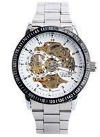 new design fashion statement jewelry for men mechanical wristwatch for men wristwatch drop shipping christmas gift 2014 T183