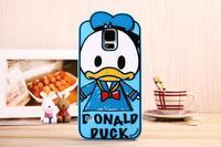 Wholesale Original Disny Graffiti Silicon Phone Case for Samsung Galaxy Note 2,Note 3,S3,S4,S5 Donald/Daisy Case 10pcs/Lot